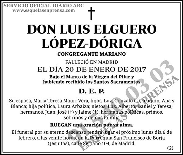 Luis Elguero López-Dóriga